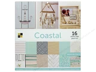 Die Cuts with a View 12 x 12 in. Paper Stack Coastal