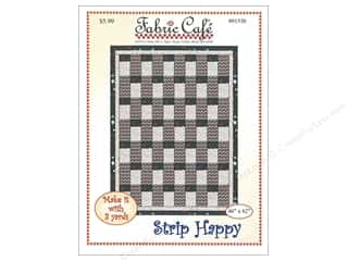 books & patterns: Fabric Cafe Strip Happy 3 Yard Quilt Pattern