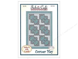books & patterns: Fabric Cafe Corner Play 3 Yard Quilt Pattern