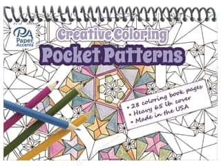 Paper Accents Creative Coloring Pocket Patterns