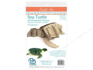 "scrapbooking & paper crafts: Paper Accents Build Its Chip Turtle 10.5"" Long"