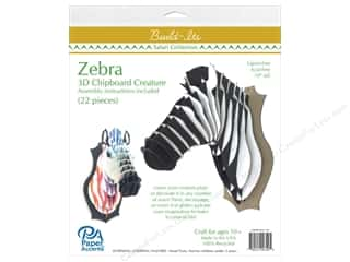 "scrapbooking & paper crafts: Paper Accents Build Its Chip Zebra 11"" Tall"