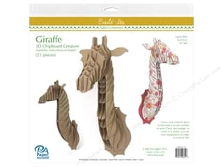 craft & hobbies: Paper Accents Chipboard Build-Its 16 in. Giraffe