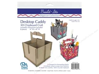 scrapbooking & paper crafts: Paper Accents Build Its Chip Organizer 4 Pocket Desktop Caddy