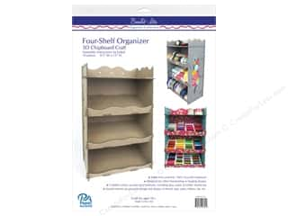 Paper Accents Build Its Chip Organizer 4 Shelf Scalloped