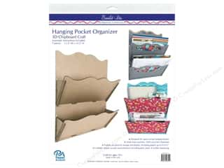 craft & hobbies: Paper Accents Chipboard Build-Its Hanging 2 Pocket Organizer