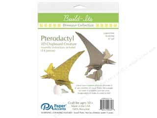 "scrapbooking & paper crafts: Paper Accents Build Its Chip Pterodactyl 6"" Tall"