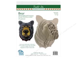 craft & hobbies: Paper Accents Chipboard Build-Its 11 in. Bear