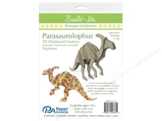 craft & hobbies: Paper Accents Chipboard Build-Its 5 in. Parasaurolophus
