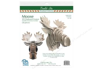 craft & hobbies: Paper Accents Chipboard Build-Its 16 in. Moose