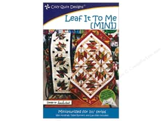 books & patterns: Cozy Quilt Designs Leaf It To Me Mini Pattern