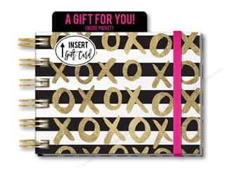Gifts & Giftwrap: Lady Jayne Note Pad Spiral With Pocket XOXO