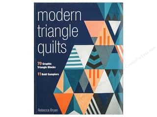books & patterns: Modern Triangle Quilts Book by Rebecca Bryan