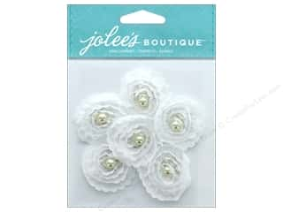 stickers: EK Jolee's Boutique Small Florals White