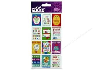 scrapbooking & paper crafts: EK Sticko Stickers Mini Teacher Posters
