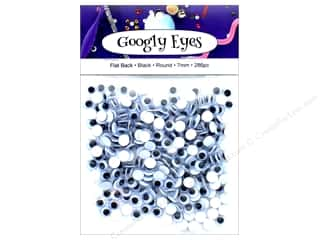 craft & hobbies: PA Essentials Googly Eyes 1/4 in. Round 286 pc. Black