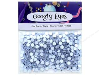PA Essentials Googly Eyes 3/16 in. Round 400 pc. Black