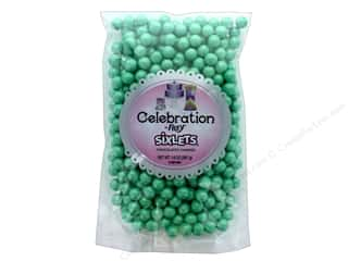 SweetWorks Celebration Sixlets 14 oz. Shimmer Turquoise