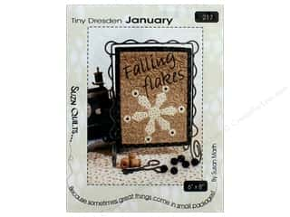 Clearance: Suzn Quilts Tiny Dresden January Pattern