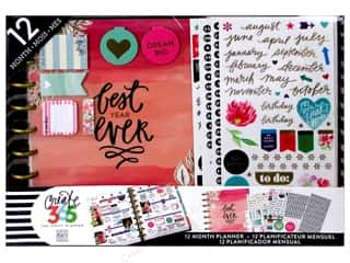 Happy Planner: Me & My Big Ideas Create 365 Happy Planner 12 Month Box Kit - Classic Best Year Ever