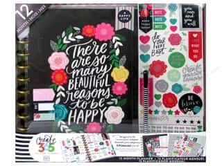 stickers: Me & My Big Ideas Create 365 Happy Planner 12 Month Box Kit - Big Flower Pop