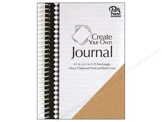scrapbooking & paper crafts: Paper Accents Create Your Own Journal 4.5 in. x 6.5 in. Lined 25 pg