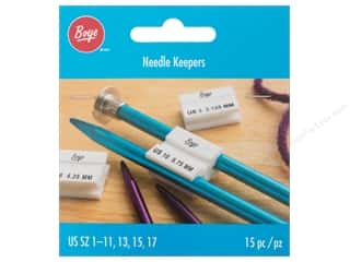 yarn & needlework: Boye Needle Keepers 15 pc.