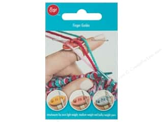 yarn & needlework: Boye Finger Guides 3 pc.