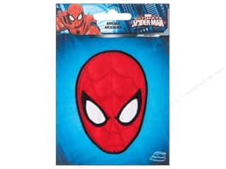 Simplicity Applique Marvel Iron On Small Spiderman Head