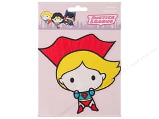 Simplicity Applique Iron On Large Supergirl Character