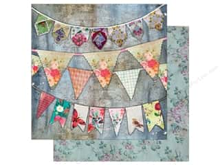 "7 Gypsies Collection Architextures Paper 12""x 12"" Vintage Bunting"
