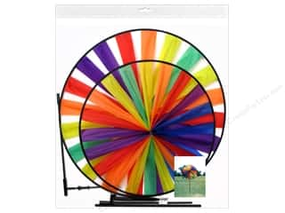 novelties: Sierra Pacific Crafts Wind Spinner Nylon Rainbow (6 pieces)
