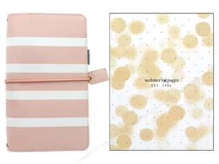 elastic: Webster's Pages Color Crush Planner Traveler Blush Stripe Boxed