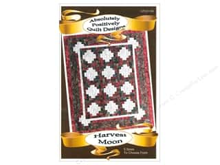 books & patterns: Absolutely Positively Quilt Designs Harvest Moon Pattern