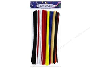 PA Essentials Chenille Stems 6 mm x 12 in. Multi 250 pc.