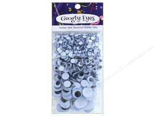 craft & hobbies: PA Essentials Googly Eyes Assorted 560 pc. Black