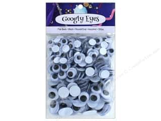 PA Essentials Googly Eyes Assorted 300 pc. Black