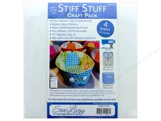 Lazy Girl Design Accessories Stiff Stuff Interfacing 10 in. 4 pc