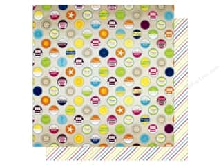 "summer splash: Bo Bunny Collection Make A Splash Paper 12""x 12"" Summertime (25 pieces)"