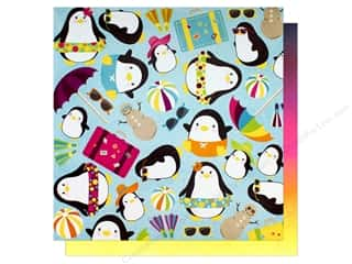 "Bo Bunny Collection Make A Splash Paper 12""x 12"" Lazy Days (25 pieces)"