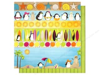 "summer splash: Bo Bunny Collection Make A Splash Paper 12""x 12"" (25 pieces)"
