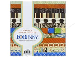 "Bo Bunny Collection Game On Paper Pad 6""x 6"""