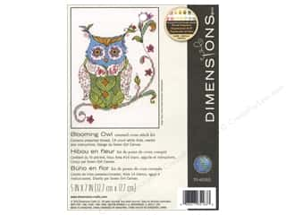 yarn & needlework: Dimensions Cross Stitch Kit Blooming Owl