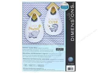 yarn & needlework: Dimensions Cross Stitch Kit Stinkin' Cute Bibs