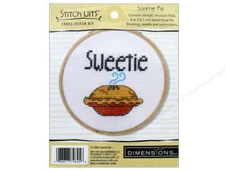 yarn & needlework: Dimensions Cross Stitch Kit 4 in. Sweetie Pie