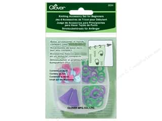 yarn & needlework: Clover Knitting Accessory Set for Beginners