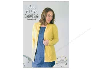 books & patterns: Sew To Grow Fall In Love Cardigan Sizes XS-4XL Pattern