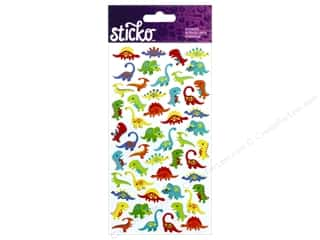 EK Sticko Stickers Mini Dinosaurs