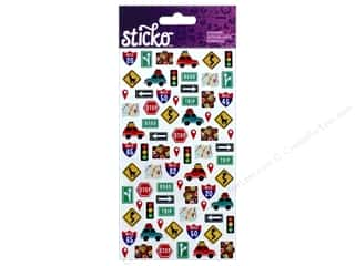 EK Sticko Stickers Mini Road Trip Travel Icons