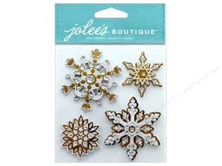 stickers: EK Jolee's Boutique Bling Snowflakes